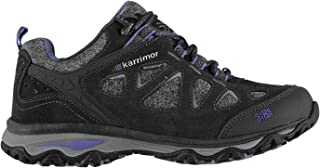 Official Brand Karrimor Evelyn Walking Shoes Womens Trainers Charcoal Ladies Footwear