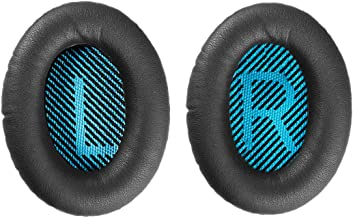 Replacement Ear Pads Cushion for Bose Headphones QuietComfort QC2 QC15 QC25 QC35 SoundLink SoundTrue Around-Ear II AE2 Ae2i Ae2w