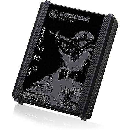 IOGEAR KeyMander - Adaptador de Teclado y ratón para Xbox One, PS4, PS3, Xbox 360 (GE1337P)