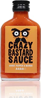 Crazy Bastard Sauce - Ghost Pepper & Mango - 100 ml