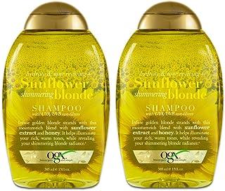 Ogx Shampoo Sunflower Shimmering Blonde 13 Ounce (385ml) (2 Pack)