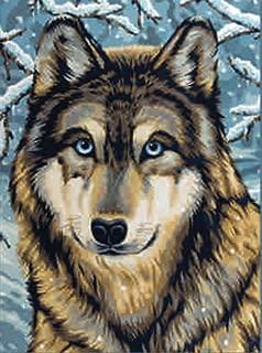 Reeves Medium Painting By Numbers - Wolf 2