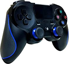 $45 » KJYT Wireless Controller for Playstation 4, Game Controller with Dual Vibration/Touch Pad/Six-axis Sensor/Turbo Black