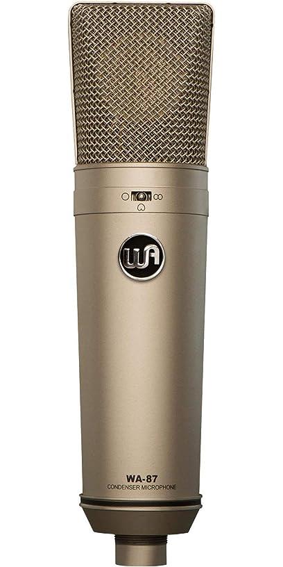 Warm Audio WA-87 Vintage-Style Condenser Microphone Nickel (Renewed)