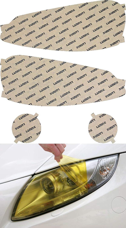 Lamin-x Custom Fit Bargain sale Philadelphia Mall Yellow Headlight Covers Dodge Viper for 03-1