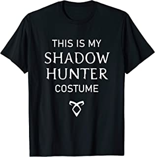 This is my Shadow Hunter bookish costume book lovers gift T-Shirt