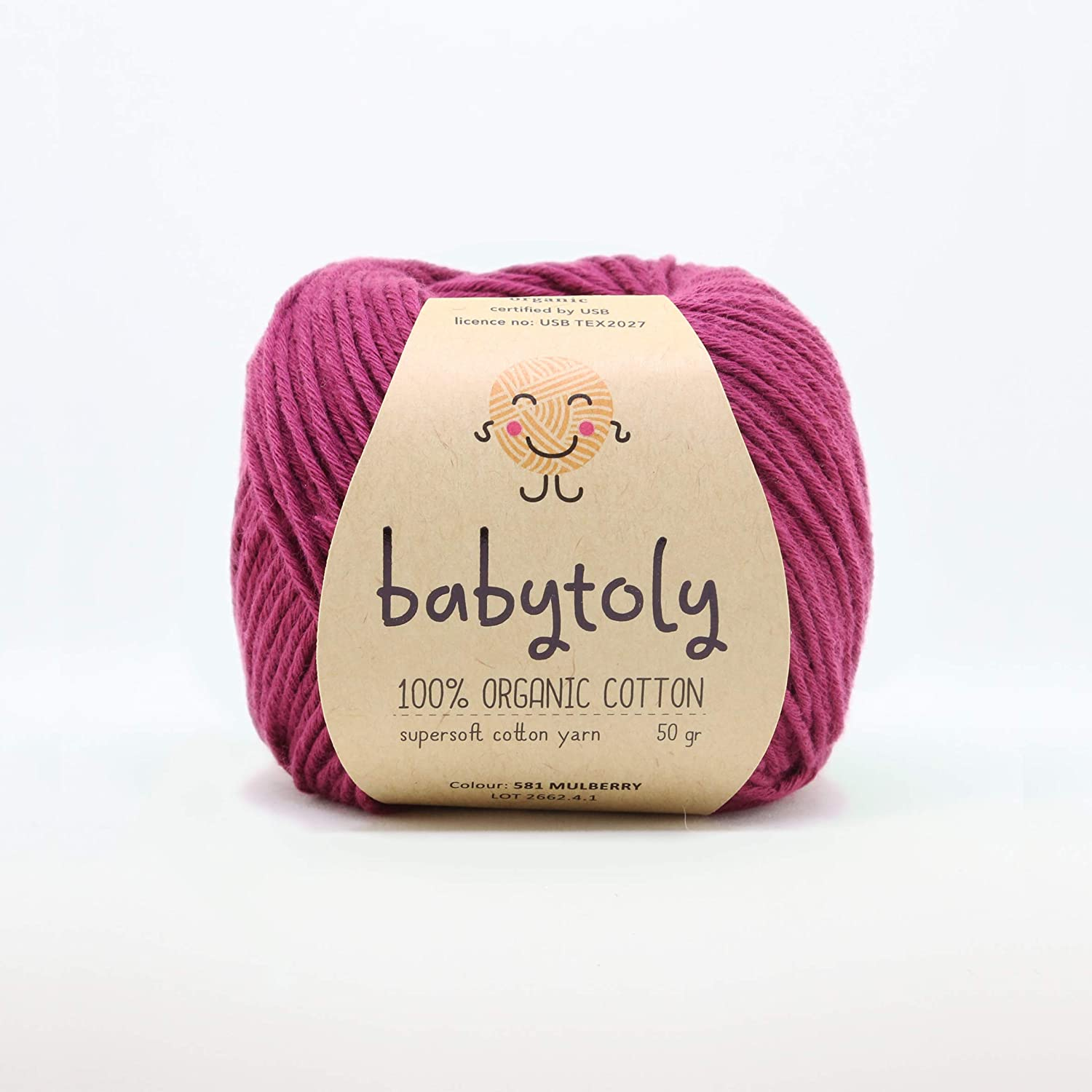 Yellow 27 Organic Egyptian Cotton 5-Pack #11 Off Wht 2 Pink 20 Mint 9 GOTS Certified Lt Denim 41 See More 5-Pks in our Organic Section!
