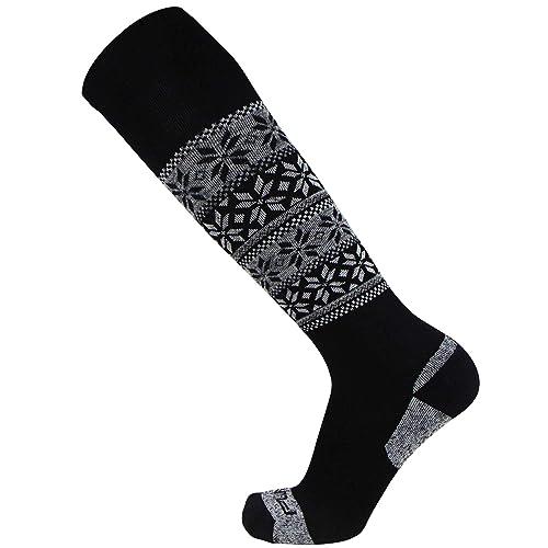 Natural Gray and Denim Womens 3 Pack Thermal Wool Socks Style 1241 C01 Black