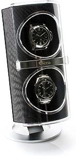 Duo Double Watch Winder in Black