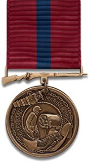 USMC Good Conduct Medal, BRONZE finish FULL-SIZE