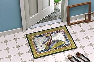 """Caroline's Treasures 8057-MAT Pelican Indoor or Outdoor Doormat, 18"""" x 27"""", Multicolor"""