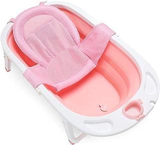 (non pliable non gonflable) Petite Baignoire Plastique Adulte de Douche Grande Baignoire Mobile Bassin Petite Baignoire pour Adultes 92 x 51 cm blanc