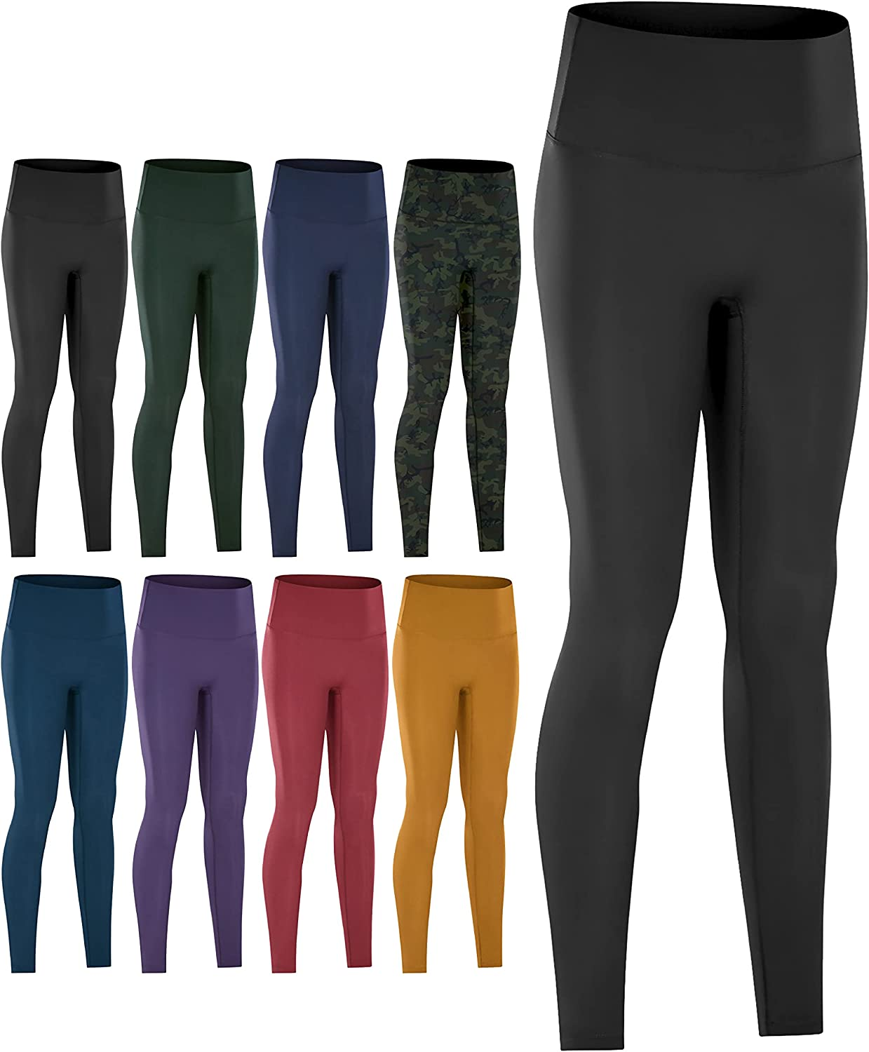 Kami Luckey Max 76% OFF No Cameltoe Front High Recommended Seamless Waisted Legg Seam