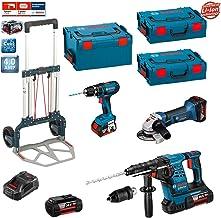 3 batteries x 5,0Ah Li-Ion DeWALT Kit 4 outils 18V XR DCK483P3T