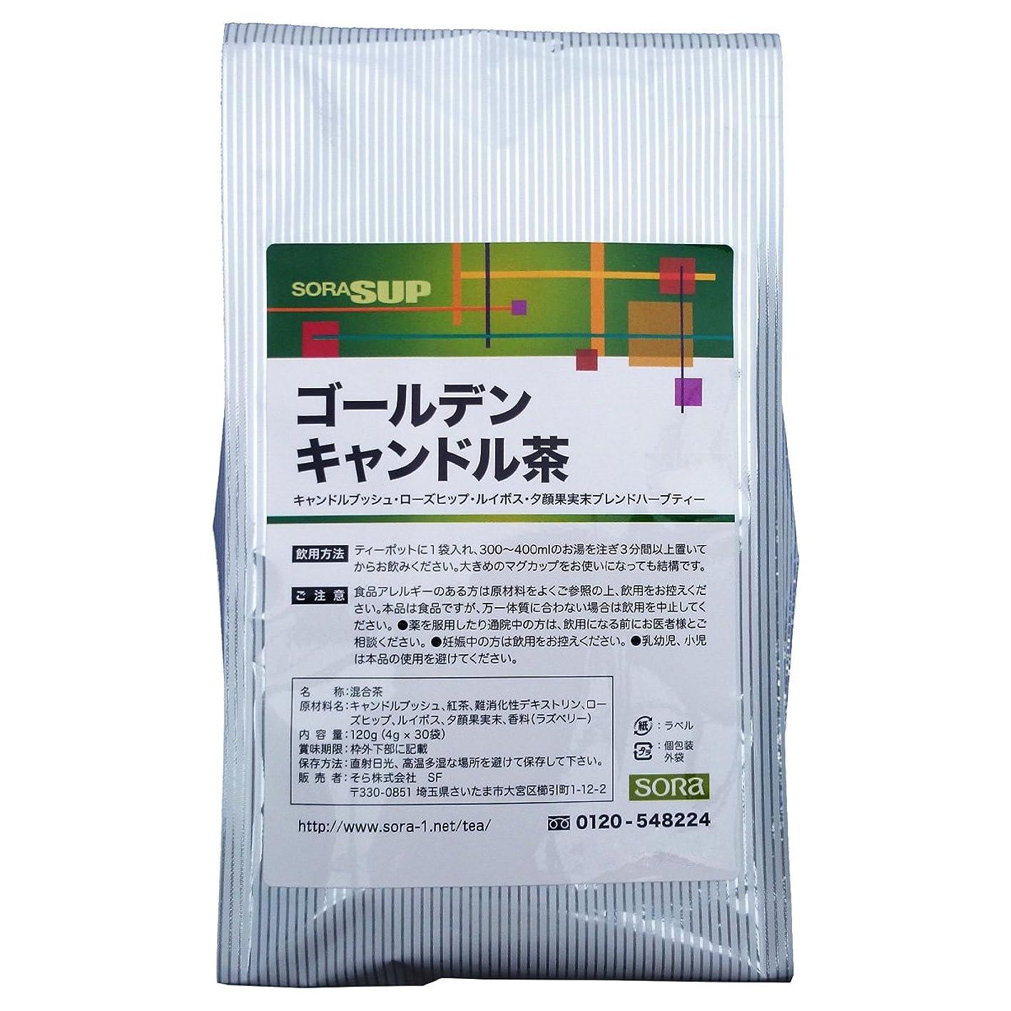 ホバー胚芽うんそら ゴールデンキャンドル茶 (主成分キャンドルブッシュ?4グラムティーパック × 30包)