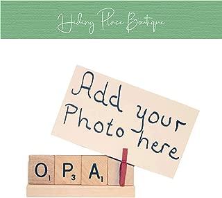 Opa Frame, Opa Gift, Opa Christmas, Opa Birthday, Opa Fathers Day, Papa Frame, Papa Photo, Papa Gift, Papa Christmas, Dad Photo, Dad Frame
