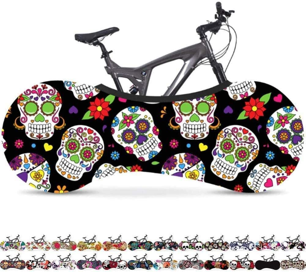 applicable: 26-28 Inch Bicycle Indoor Storage Cover Bike Cover Indoor Anti-dust Bike Storage Wheel Cover Bike Storage Bag Rip Stop Fits 99/% of All Adult Bicycles -#6 160 * 55cm