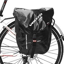 Venzo 600D TPU or Polyester Waterproof Bike Bicycle Rear Rack Pannier Bag