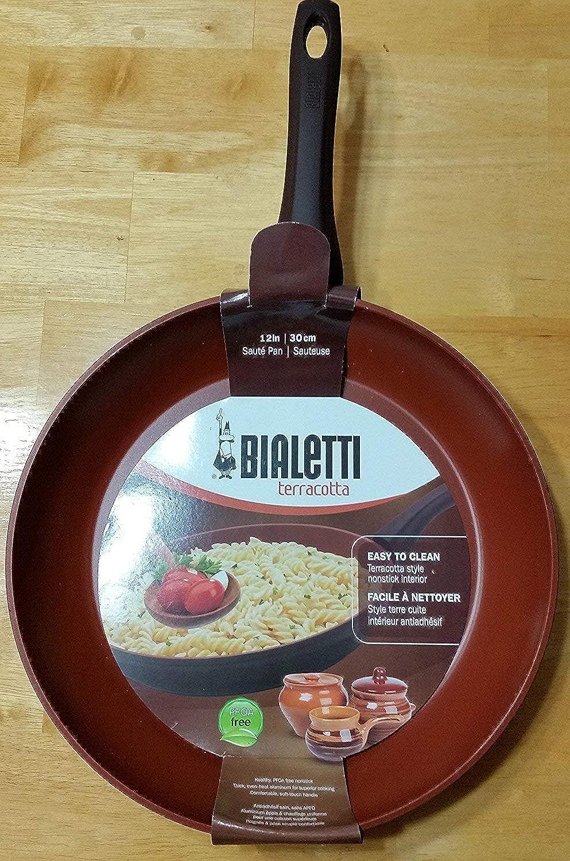 Bialetti Terracotta 12 inch Sautee Pan