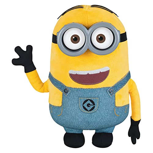 45360b55293 Despicable Me Minion Dave Plush with Pop-Out Eyes Toy Figure