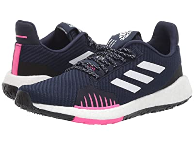 adidas Running PulseBOOST HD Winter (Collegiate Navy/Footwear White/Shock Pink) Women