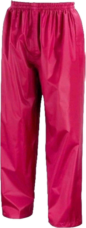 Kids Waterproof Rain Over Trousers Childrens Childs Boys and Girls Rainwear