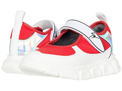 Giuseppe Zanotti Kids SBE0108 (Toddler) (Red/White) Kid