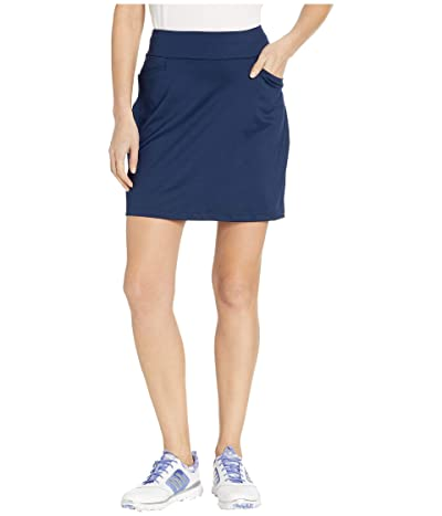 adidas Golf Ultimate Knit 18 Skort (Night Indigo) Women
