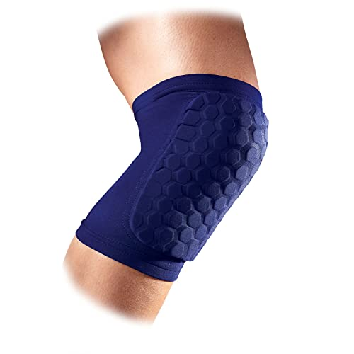 Volleyball and More Renewed Knee Compression Sleeves: McDavid Hex Knee Pads Compression Leg Sleeve for Basketball Pair of Sleeves Weightlifting