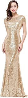 maid of honor gold dress