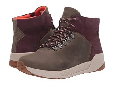 Timberland Kiri Up Waterproof Hiker (Medium Grey Full Grain) Women