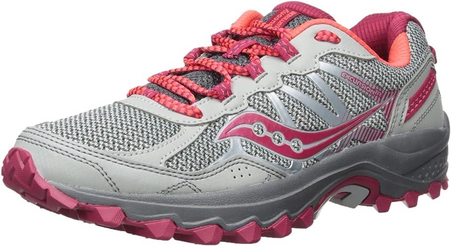 Saucony Wohommes Excursion TR11 FonctionneHommest-chaussures, gris rose, 5 Medium US
