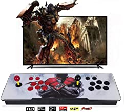 Happybuy Pandora Box Over 1500 Latest Classic Games 2 Players Pandora's Box 9S Multiplayer Home Arcade Console Games All in 1 Non-Jamma PCB Double Stick Newest Design Power HDM