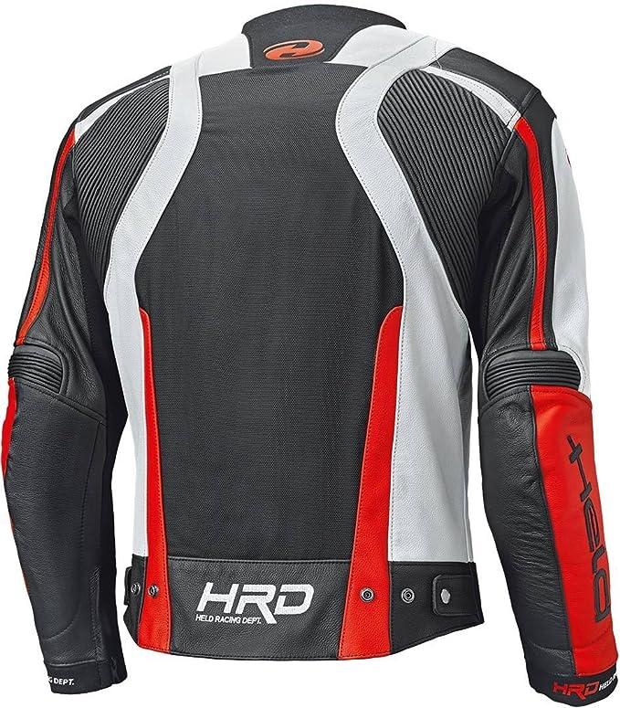 Held Hashiro Ii Motorrad Lederjacke Schwarz Weiß Rot 56 Auto