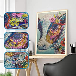 Eduavar DIY Diamond Painting Cross Stitch Craft Kit Wall Stickers For Living Room Decoration Home