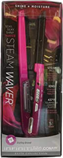 Conair Infiniti Pro Steam Waver Elite Collection Fast Heat-Up Smooth Conditioning