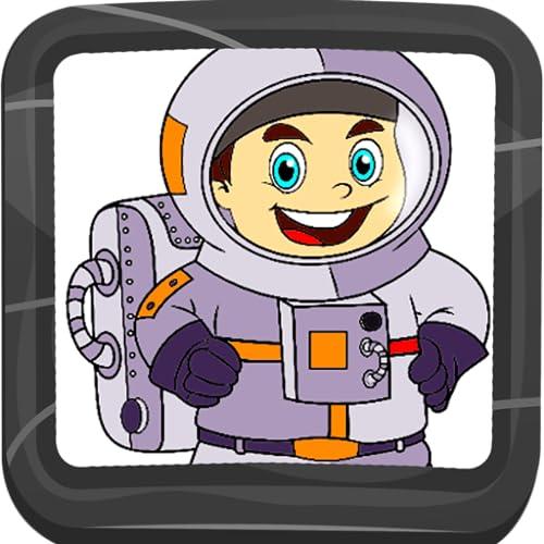 Astronaut Malbuch