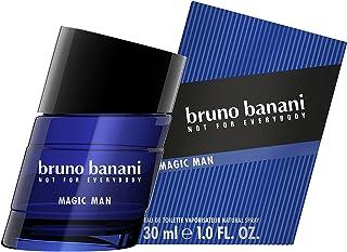 Bruno Banani Magic Man – Eau de Toilette Natural Spray – Charyzmatyczne ciepłe męskie perfumy – 1 opakowanie (1 x 30 ml)