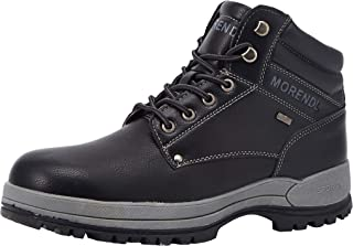 Men's All Weather Premium Water-Resistant Outdoor Hiking Mountain Climbing Construction Performance Comfortable Soft Toe Work Boots