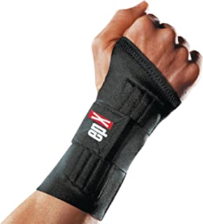 epX Ambiflex Wrist Support, Stabilization and Pressure Relief Wrist Brace with Flexible Stays for Carpal Tunnel, Sprains, Metacarpus, Compression Support, Fits Both Left & Right Wrist, Medium/Large