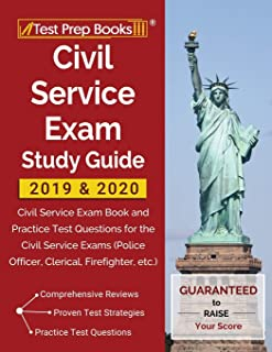 Civil Service Exam Study Guide 2019 & 2020: Civil Service Exam Book and Practice Test..