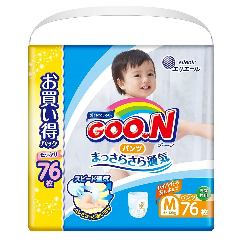【Amazon.co.jp限定】グーン パンツ M (6~12kg) 76枚 まっさらさら通気