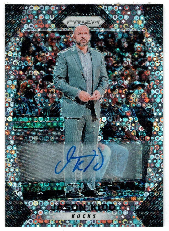 Jason Kidd (Basketball Card) 201718 Panini Prizm Fast Break Autographs   190 Mint