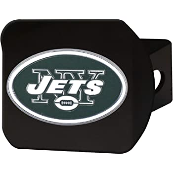 Chrome 2 Square Type III Hitch Cover,Green,22594 FANMATS NFL New York Jets Metal Hitch Cover