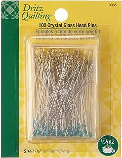 Dritz 3004 Extra-Fine Glass Head Pins