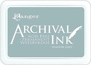 Ranger Tampon encreur d'archivage Shadow Gris