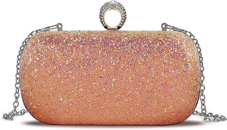 Beautier Multicolor Sparkling Purse Elegant Evening Party Handbags for women
