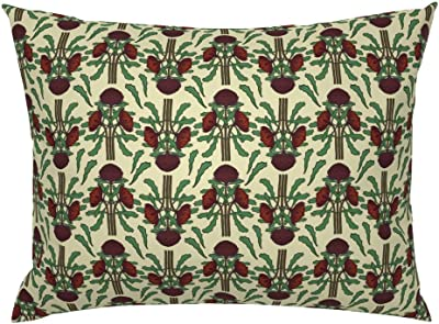 White Waratah Cushion Cover Printed from original silk painting