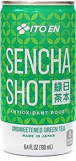 Ito En Sencha Shot, Japanese Green Tea, 6.4 Ounce (Pack of 30), Unsweetened, Zero Calories