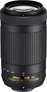 (Renewed) Nikon AF-P DX NIKKOR 70-300 mm f/4.5-6.3G ED VR Lens for DSLR Cameras (Black)